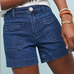 Anthropologie Pilco BNWT High Rise Denim Shorts